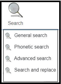 Webtrees Search Box